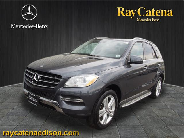 Certified pre owned 2014 mercedes benz m class ml350 for Ray catena mercedes benz
