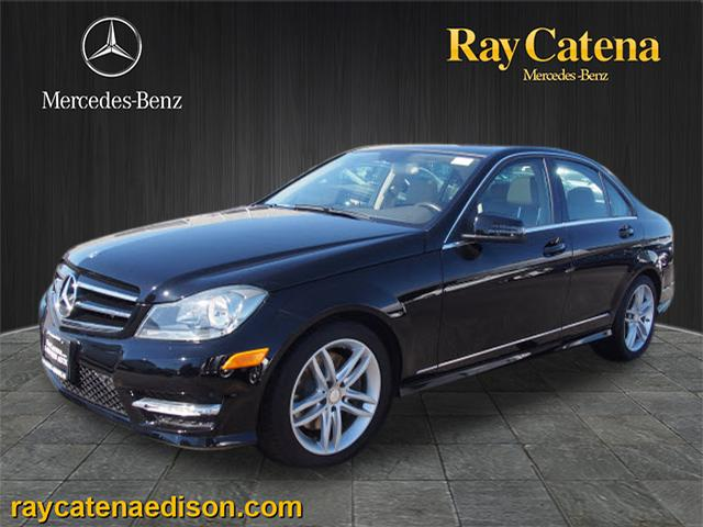 Pre owned 2014 mercedes benz c class c300 sport 4matic for Ray catena mercedes benz